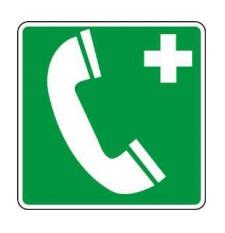 PANNEAU SIGNALETIQUE URGENCE TELEPHONE