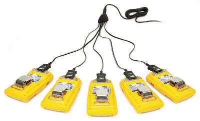 Chargeur multi-ports filaire 5 unités pour GasAlert Microclip X3 ou XL