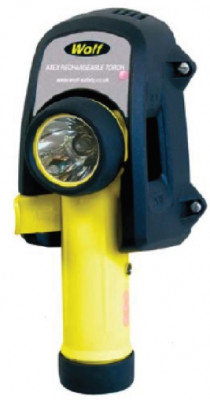 TORCHE VEGA LED COUDEE  ATEX ZONE 1 + CHARGEUR