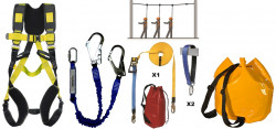 KIT DE SECURITE ANTICHUTE EVOLUTION CONSTRUCTION 2